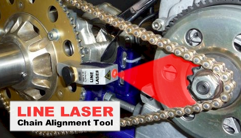 Line Laser Chain Alignment For Race Karts Profi Products